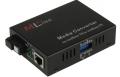 Оптический модуль ML-F920R-LFP WDM медиаконвертер MlaxLink 10/100Base-TX/100Base-FX, SC, sm, 1550/1310, 20  км, с функцией LFP и переключателями